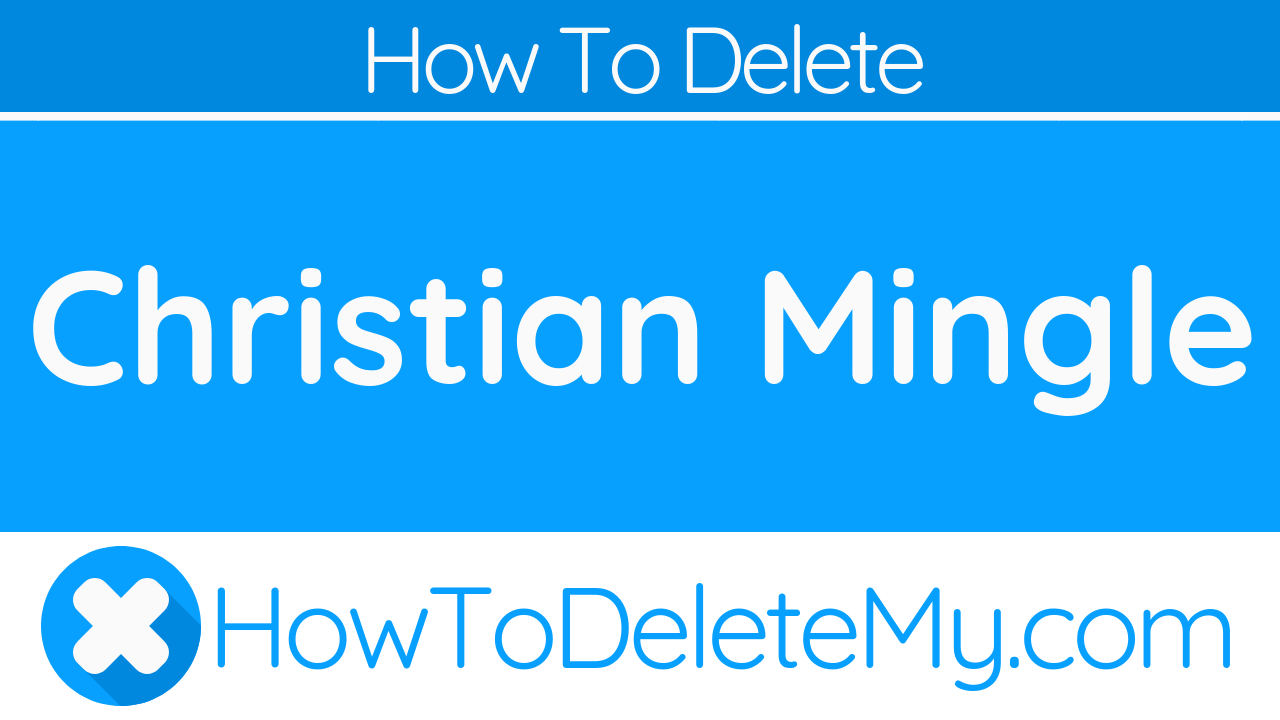 How to delete christian mingle