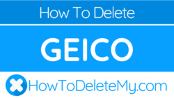 How to delete or cancel Geico